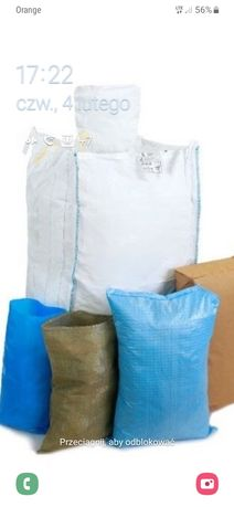 Importer opakowań BIG BAG 500 kg 700 kg na zboże
