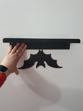 Metalowa półka..,  podpórka na książki lub wieszak GRATIS!