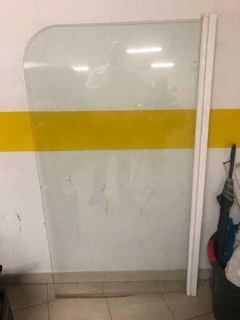 Resguardo Para Banheira Vidro Transp (148 X 85 Cm)