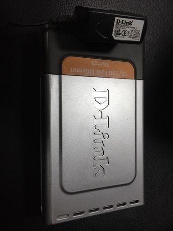 Коммутатор сетевой D-Link DES-1008D