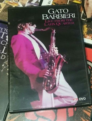 Gato Barbieri - DVD Música/Concerto