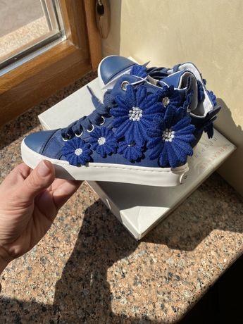 Ботиночки Geox 27р кеди, кроссовки