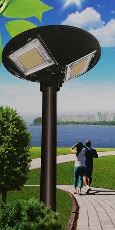 LATARNIA solarna LED 360stopni 150W automat czujnik ruchu, zmierzchu