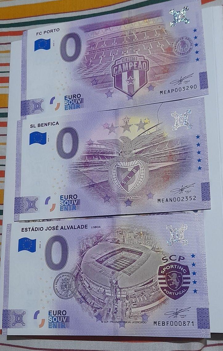Notas 0 euros venda
