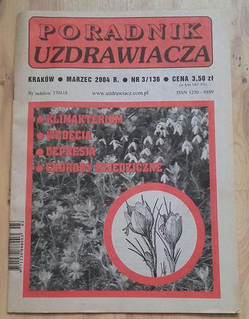 Poradnik uzdrawiacza rok 2004 marzec kwiecień