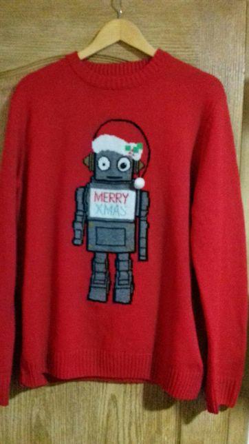 Новогодний новорічний свитер