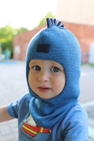 Теплые шапки шлемы зима для детей Ruddy by Beezy , шлем шапка