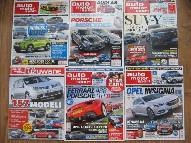 6x magazyn czasopismo auto motor i sport porsche ferrari mercedes