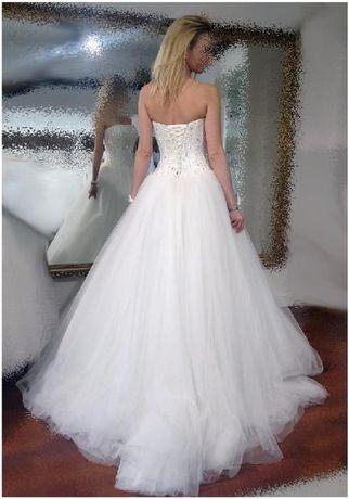 suknia ślubna SUZANNA RIVIERI princessa rozm. S/M wysyłka