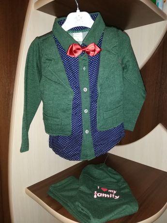 Нарядний костюм для хлопчика на рочок