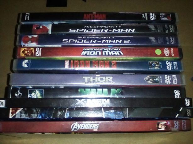 Marvel kolekcja 10 filmów DVD