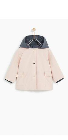 Zara płaszczyk kurtka 98