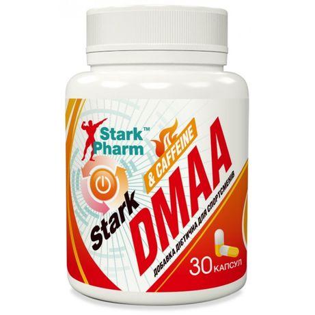DMAA 100мг + Caffeine 200мг 30к стимулятор кофеин ДМАА StarkPharm Киев
