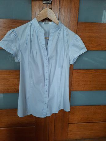 Bluzka taranko 36r. Koszula taranko, krótki rękaw, stójka.
