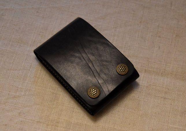 Portfel męski - handmade, ręcznie robiony, skóra naturalna.