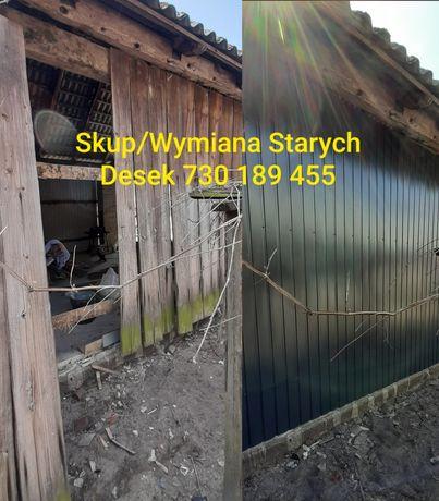 Stare deski ze stodoły stare drewno