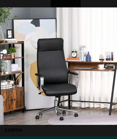 Fotel biurowy, czarny