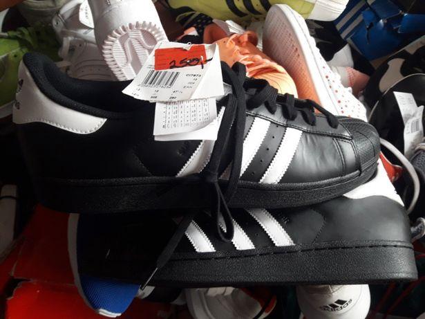 Adidas Superstar 47 1/3 mega wyprzedaz 100% skóry.Duzo innych modeli