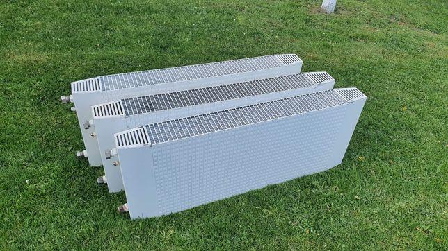 3 sztuki kaloryferów aluminiowych Konwektor 40x100cm