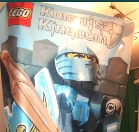LEGO baner Kingdom UNIKAT Zaslona panel rycerze czerwony