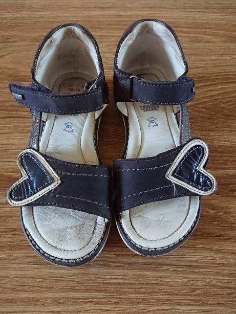 Sandałki Lasocki r.28 skórzane