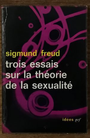 trois essais sur la théorie de la sexualité, sigmund freud