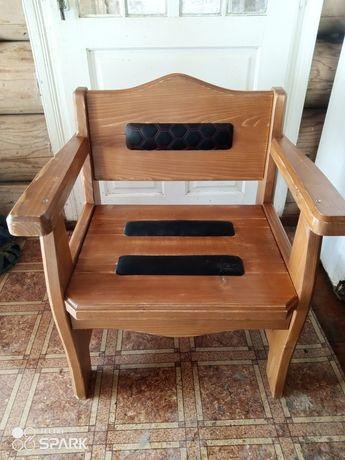 Крісло стілець дерев'ний на терасу