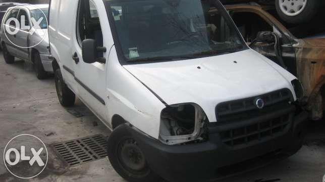 Фіат Добло Fiat Doblo 1.9 jtd, 1.9d . 1.3multijet,- 2002-2008 rozborka