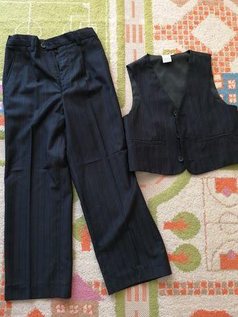 Spodnie+Kamizelka roz 122