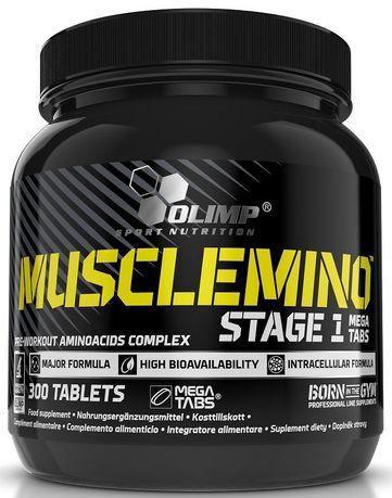 OLIMP MUSCLEMINO stage 1 300 TABLETEK siłownia aminokwasy bcaa