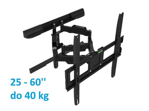 Uchwyt do telewizora wieszak TV 25-60 cali do 40 kg VX-400 regulowany
