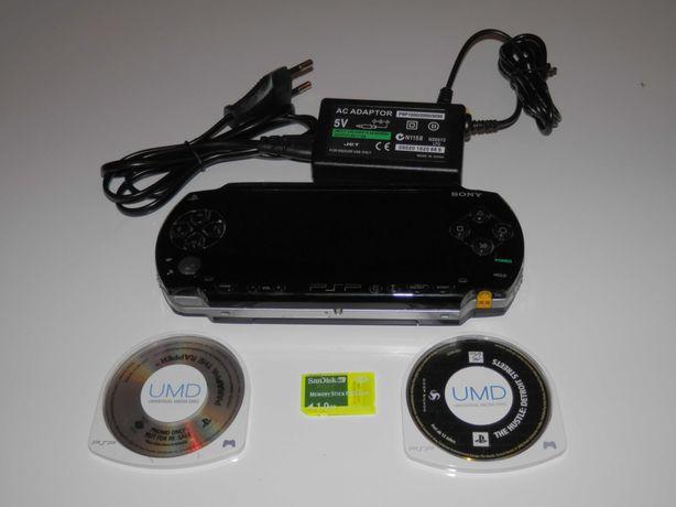 Konsola Sony PSP 1003 gry 1gb ładowarka tanio