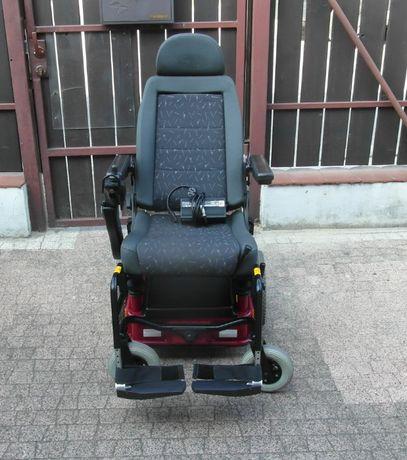 Wózek inwalidzki elektryczny CARONY GO, winda, 6 km/h