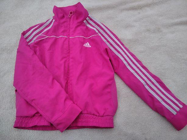 Спортивная кофта куртка курточка розовая адидас