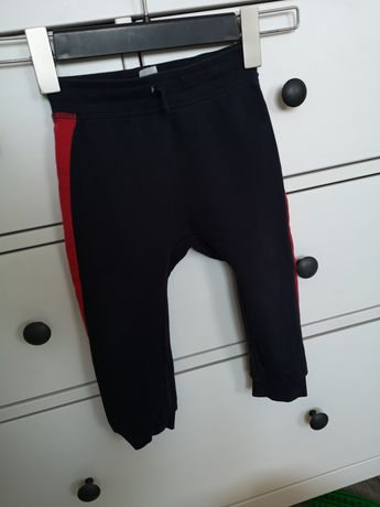 Legi joggersy Joggery spodnie hm 92