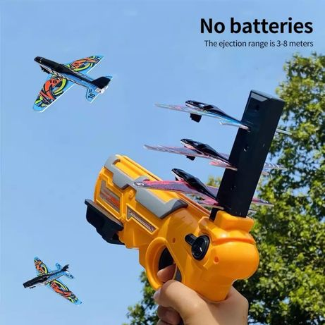 Пистолет-катапульта для самолётиков