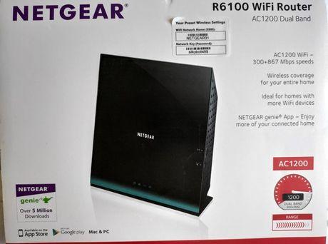 router Netgear R6100 uszkodzony