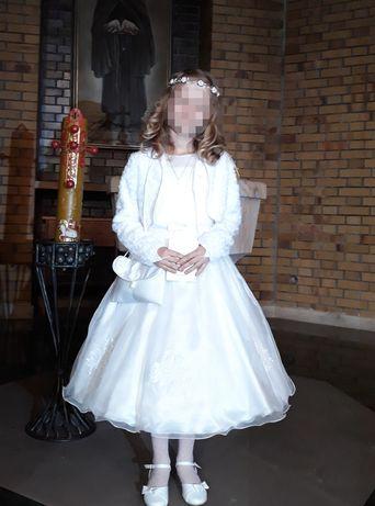 Sukienka do komunii + dodatki