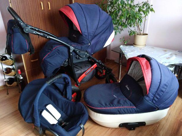 Wózek 3w1 full zestaw Camarelo+gratis
