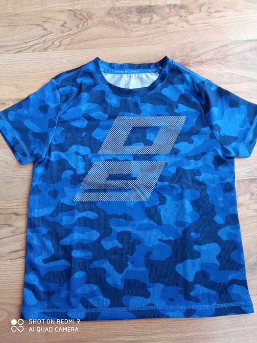 Koszulka sportowa niebieskie moro r. 122-128 Katowice - image 1