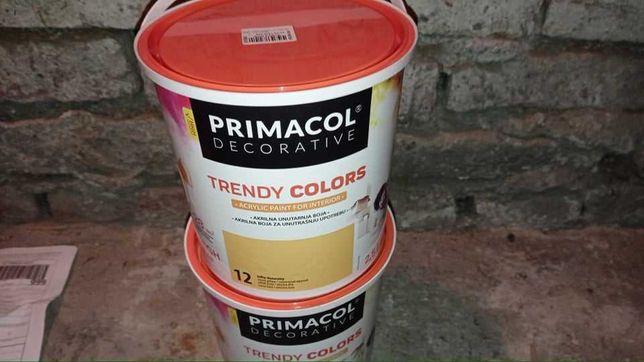 Farba Trendy Colors Żółta Akrylowa Matowa do ścian Jedynka Dekoral