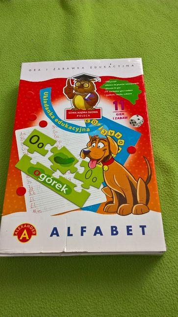 Alexander, gra edukacyjna Alfabet