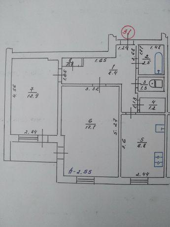 Продадим 2-комнатную квартиру на Кагалине