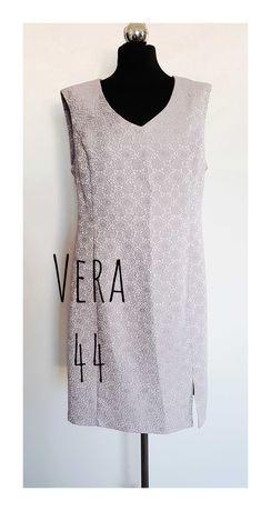 Vera Sukienka tłoczony wzór 44
