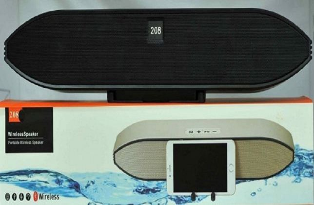 Głośnik 208S BLUETOOTH Mobile Radio Fm Slot USB SD
