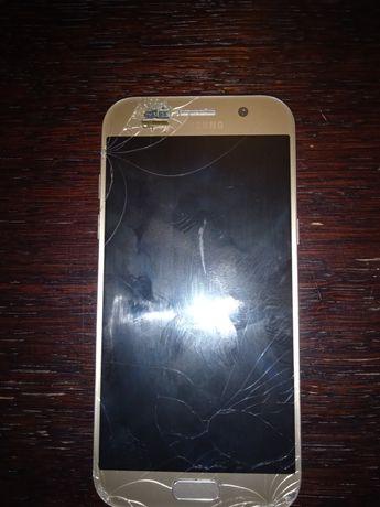 Samsung Galaxy A5 2017 uszkodzony wyświetlacz