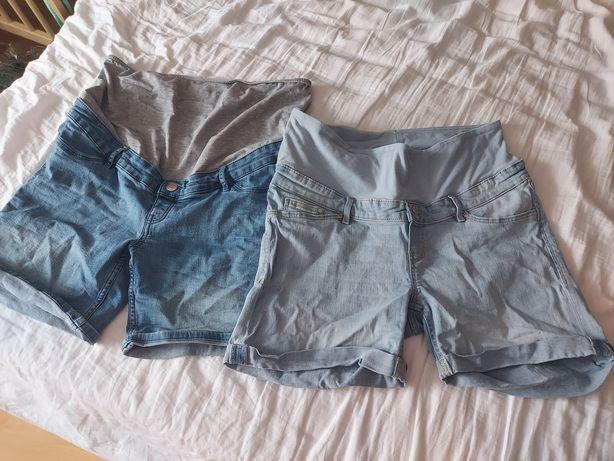 Spodnie spodenki ciążowe 44