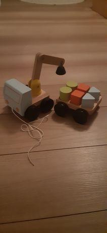 Dziecko zabawki Ikea dźwig klocki