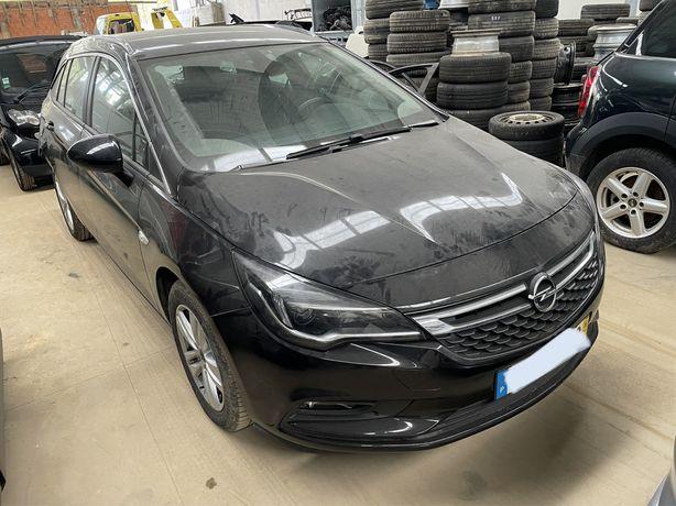 Opel astra k ano 2016-10 diesel com 65 mil km acidentado a trabalhar