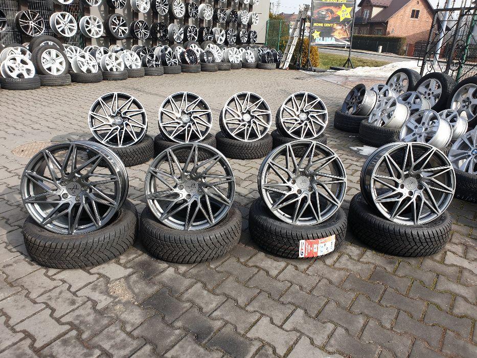 "Felgi aluminiowe KESKIN 5X112 18"" 8J ET30 AUDI SKODA SEAT VW ITP."